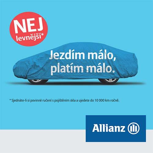 Sjednejte si havarijní pojištění přímo na pobočce pojišťovny Allianz Brno, OC Campus Square.